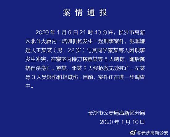 南通百度seo排名优化_长沙培训机构男子刀刺同砚致2死3伤 跳楼自杀身亡
