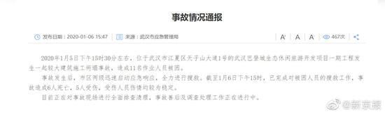 竞价推广托管靠谱吗_武汉一建筑工地发生坍塌事故 致6人殒命5人受伤