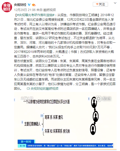 天猫网站是怎么做seo优化的_央视曝光考研作弊利益链:两年时间三四百人入学