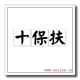 《十保扶》拼音字母/读音/英语/繁体字 三字词语