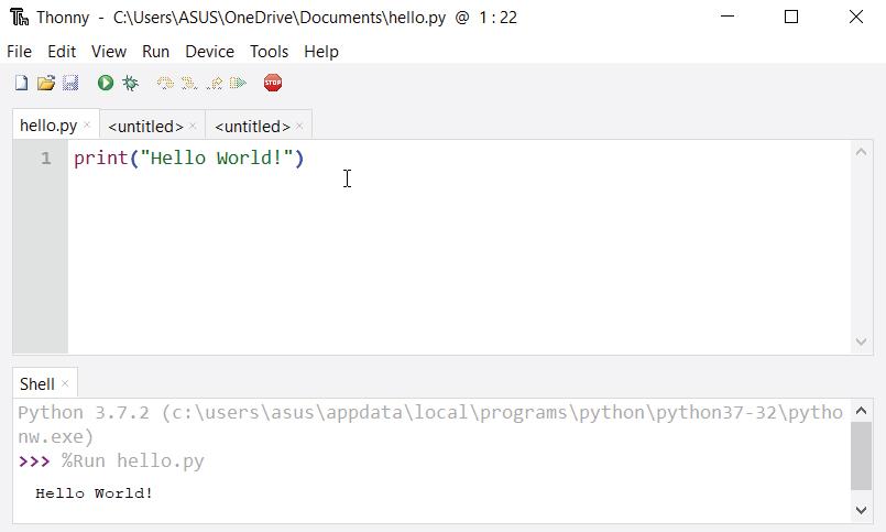 全世界都公认运行Python的最简单方法