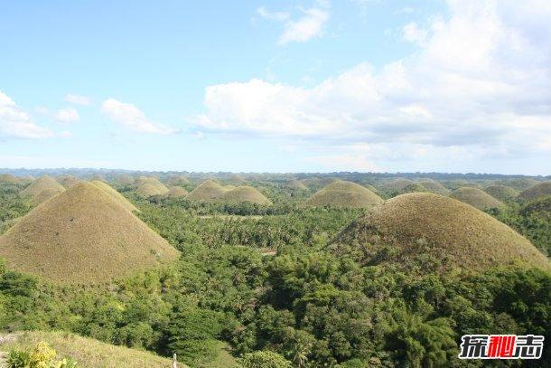 世界十大奇特自然景观,你们见过巧克力山吗?