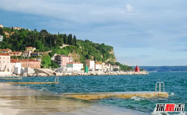 世界海岸线最短的国家:第一个国家只与地中海接壤